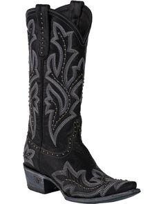 huge discount 2a8d5 5d962 Lane Saratoga Studded Boots Corral Boots, Country Outfitter, Studded Boots,  Cowgirl Boots,