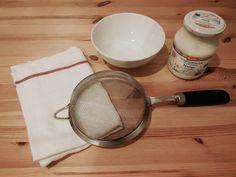 Quark im Pfandglas: Dreierlei Frischkäse Eat, Zero Waste, Butter, Food Ideas, September, Yogurt, Eten, Sustainability, Cooking