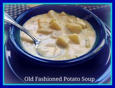 Old Fashioned Potato soup Recipes is One Of the Beloved soup Recipes Of Several People Around the World. Besides Simple to Make and Great Taste, This Old Fashioned Potato soup Recipes Also Health Indeed. Rib Recipes, Soup Recipes, Cooking Recipes, Yummy Recipes, Cooking Tips, Recipies, Yummy Food, Old Fashioned Potato Soup, Loaded Potato Soup