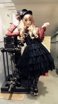 Dearest Possession Harajuku Fashion, Japan Fashion, Lolita Fashion, Lolita Goth, Lolita Dress, Lolita Style, Fashion Walk, Cute Fashion, Fashion Ideas