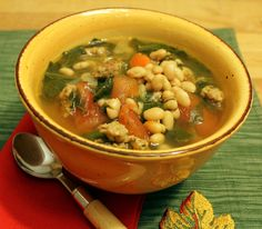... leek white bean soup recipes dishmaps spinach and leek white bean soup