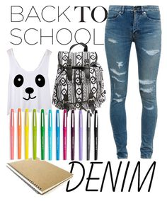 """Back to School"" by katlin-pierce ❤ liked on Polyvore"