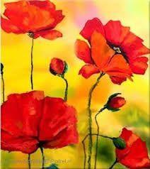 Afbeeldingsresultaat voor bloemen schilderijen abstract