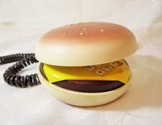 Hey, I found this really awesome Etsy listing at https://www.etsy.com/listing/464506975/hamburger-telephone-cheeseburger-phone
