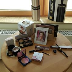 Display of next lot of Limited edition makeup