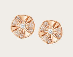 Earrings DIVAS' DREAM 350784 - Discover BVLGARI's collections and read more about the magnificent Italian jeweller on the official website. 14k Gold Jewelry, Luxury Jewelry, Gemstone Jewelry, Diamond Jewelry, Bulgari Jewelry, Men's Jewellery, Designer Jewellery, Jewellery Designs, Minimal Jewelry