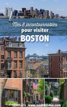 """Je vis à Boston depuis bientôt 4 ans, et j'adore cette ville de la côte Est américaine. Dans cet article, les basiques sont évoqués : que visiter à Boston ? Et promis, avec quelques 'bonus"""" personnels..."""