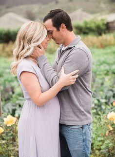 A Florist's Greenhouse Maternity Photos – Inspired By This