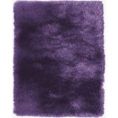 Quirk Lilac Shag Rug