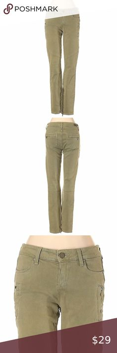 I just added this listing on Poshmark: Paige Murky Green Low Rise Straight Leg Jeans. Colored Denim, Jeans For Sale, Paige Denim, Khaki Pants, Legs, Green, Shopping, Style, Fashion