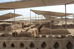 Acabo de compartir la foto de Sheyla Rivera Sanandres que representa a: Complejo Arqueológico de Chan Chan.