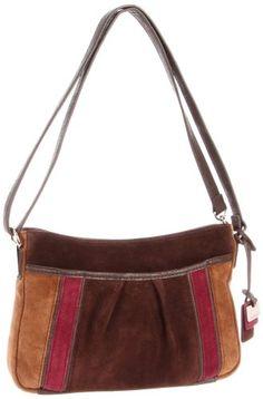 Tignanello Tres Suede Shoulder Bag 74
