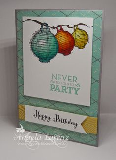 Angela Lorenz: Today & Everyday, Let Your Hair Down, Stampin Up