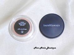 Silk Stockings (peachy nude) Eyecolor by bare minerals bare escentuals .28g - Eye Shadow