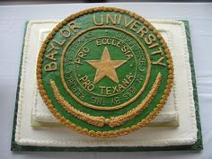 Wow! Baylor Grooms Cake