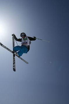 I think it would be fun to learn how to do flips on my skis.