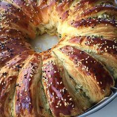 Tart Recipes, Baby Food Recipes, Apple Tart Recipe, Turkish Recipes, Kitchen Art, Bagel, Love Food, Food And Drink, Bread