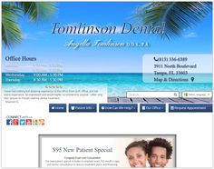 Tampa Dentist - Tomlinson dental care provides affordable family dentistry. We see children ages 2 years and up, teens, adults, and seniors.   Dr. Tomlinson proudly served as a Captain in the Air Force.