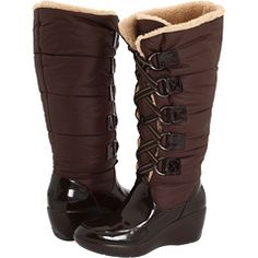 Sperry boots, great for Minnesota winters.