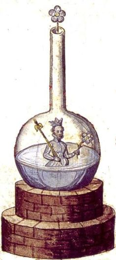 Alchemy:  Rosarium Philosophorum -Jaroš Griemiller  ~1578. An #Alchemy artwork.