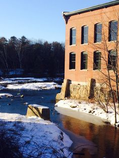 Where the water meets the mills