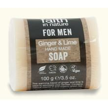 Faith For Men - Ginger & Lime Soap by Faith In Nature