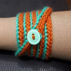Pulsera crochet