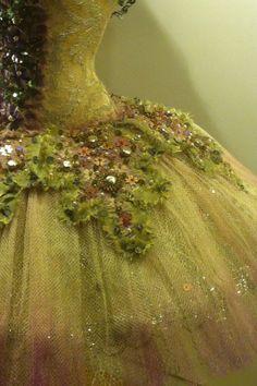 ballet gown detail ...