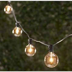 Table in a Bag Lighting Vintage String Party Lights - 48-Feet / 24 Sockets - Bulbs Included | C94824 | Destination Lighting