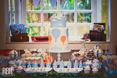 Hot Air Balloon theme; Sweets Table