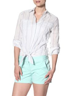 Drew Women's Paula Button Down Top with Tie, http://www.myhabit.com/redirect?url=http%3A%2F%2Fwww.myhabit.com%2F%3F%23page%3Dd%26dept%3Dwomen%26sale%3DAXUX78850B0W1%26asin%3DB00ADDGWRE%26cAsin%3DB00ADDH2ZU