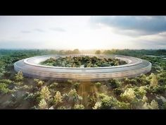 Forget about being insanely great, Apple's plans for a new spaceship campus are becoming insanely expensive. Bloomberg Businessweek reports hearing from five sources close to th. Apple Campus 2, Covered Walkway, Apple New, Steve Jobs, Beautiful Architecture, Square Feet, Futuristic, New Homes