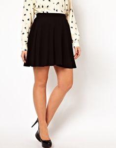 Skater Skirt In Jersey - $27.13