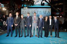 """Au coeur de l'Océan : Chris Hemsworth et Tom """"Spider-Man"""" Holland rejoignent la terre ferme pour l'avant-première - Diaporama - AlloCiné"""