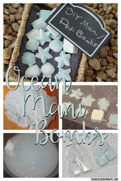 DIY Mani Bombs - easy to make and great to keep your nails strong & moisturized!