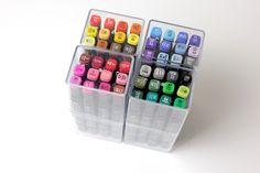 Er zijn weer nieuwe Twinmarkers / alcoholmarkers verkrijgbaar bij de Action, ik schreef een review over deze doosjes met fijne markers!