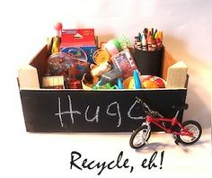 Recycling Clementine Orange Crates - I have a TON of these piling up in the garage...