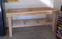 reloading bench | About two weeks ago we got the base completed.