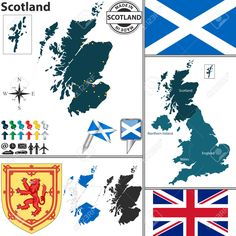 Scotland Map Region Area | Maps | Pinterest | Scotland