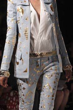 too much together but separately, LOVE!!!!!! Balmain 2012