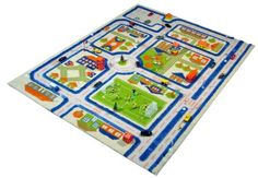 This is awesome! It's a 3D Play Rug!