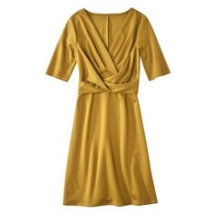 Merona Womens Cross  Front Ponte Dress - Assorted Colors.Opens in a new window