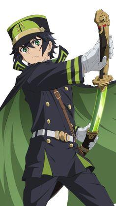 Hiiragi Shinoa Squad - Hyakuya Yuichiro