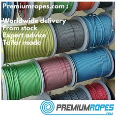 Ropes for sailing boats. #ropes #sailing #online #worldwide #delivery #segeln #yelken #vela #bateau #barco #sailingyacht #webstore #expert #rope #store #ropesforsailing