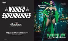 Famous Marvel Characters Re Imagined As Female Superheroes