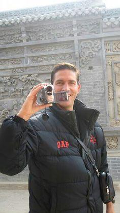 Jim visiting china