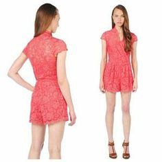 I just discovered this while shopping on Poshmark: Dolce Vita CLARITA VICTORIAN LACE ROMPER DRESS NWT. Check it out!  Size: M