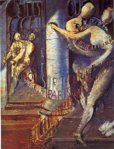 'La grand malade' von Max Ernst (1891-1976, Germany)