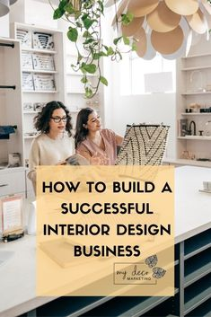 Do you have what it takes to build a successful design business? Here's some expert advice on what you need on how to plan, price and create processes for your design business success #interiordesign #interiordesigner #mydecomarketing Interior Blogs, Interior Inspiration, Business Planning, Business Tips, Interior Design Business, Build Your Brand, Creative Industries, Your Design, Living Spaces