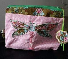 Kosmetiktäschchen Libelle